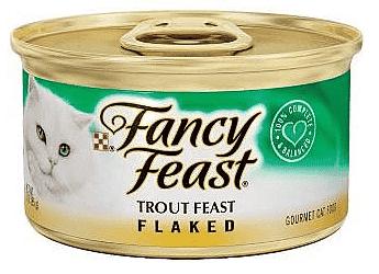 פנסי פיסט במרקם פתיתים דג פורל 85 גר'