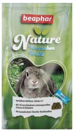 ביהפר נייצ'ר מזון השלמה לארנבים