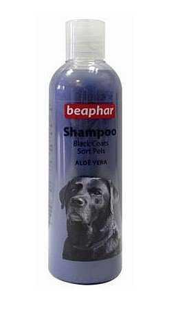 ביהפר שמפו כלבים פרווה כהה