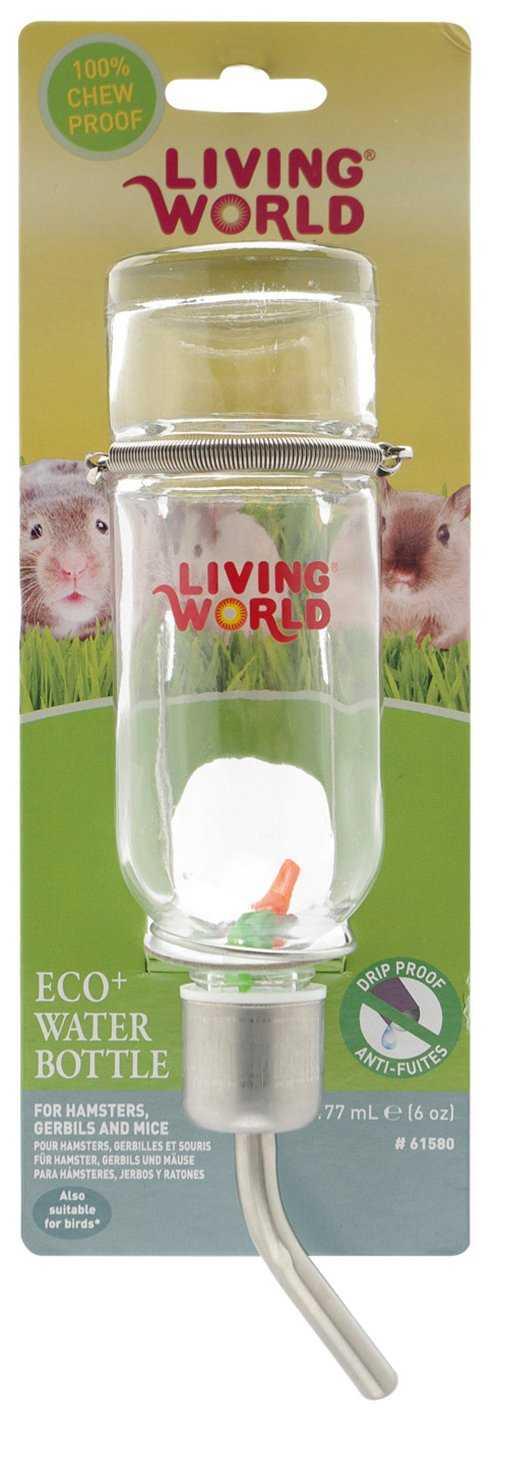 """בקבוק זכוכית למכרסם ליווינג וורלד 769 מ""""ל"""