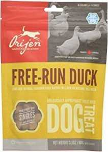 אוריג'ן חטיף לכלב בטעם ברווז חופש 56 גרם