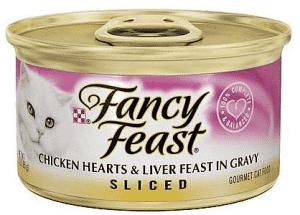 פנסי פיסט במרקם נתחים לבבות עוף וכבד 85 גר'