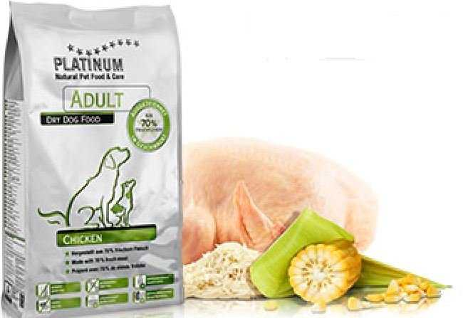 פלטינום אוכל רך לכלבים עוף