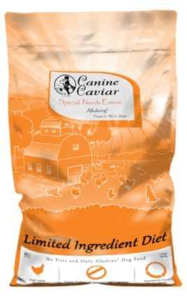 """קנין קוויאר - עוף ואורז חום הוליסטי לצרכים מיוחדים 10 ק""""ג לכלבים"""