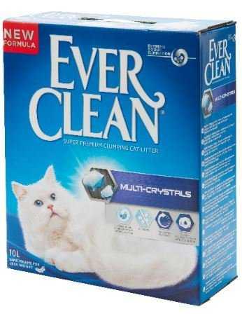 אוור קלין סגול לחתולים מולטי קריסטל ללא בישום