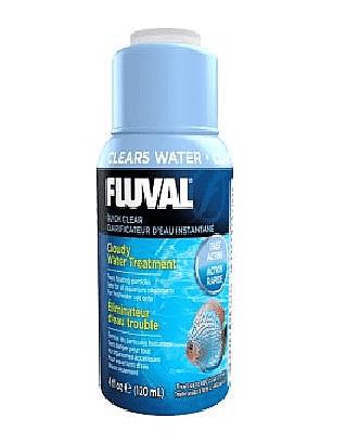 """מצליל מים פלובל - FLUVAL בנפח 120 מ""""ל"""