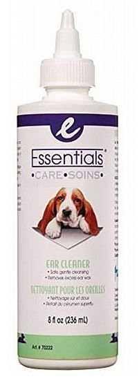 ניקוי אוזניים של כלבים אסנשל קר