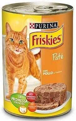 פריסקיז עוף וירקות פטה לחתולים 400 גר'