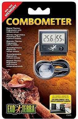 מד לחות וחום דיגיטלי לטרריום אקזוטרה