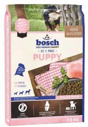 """אוכל לגורי כלבים בוש פאפי 7.5 ק""""ג"""