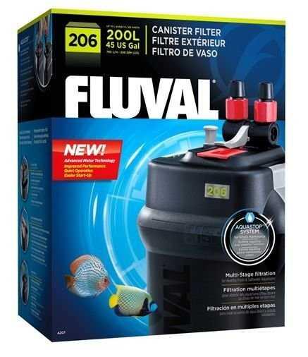 פילטר חיצוני פלובל 206 FLUVAL הספק 780 ליטר