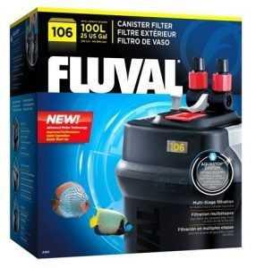 פילטר חיצוני פלובל 106 FLUVAL הספק 550 ליטר