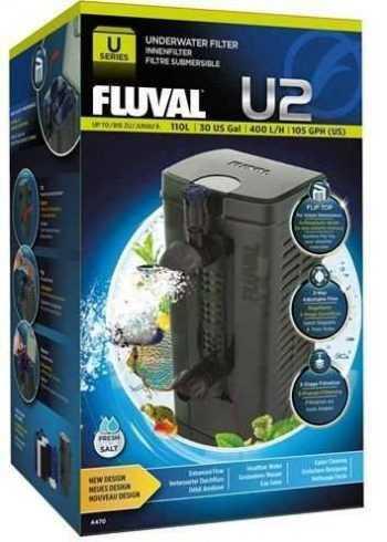 פילטר פנימי פלובל FLUVAL U2 בהספק 400 ליטר לשעה