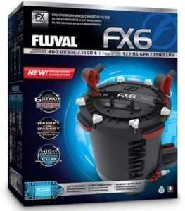 פלובל FLUVAL FX6 פילטר חיצוני הספק 3500 ליטר