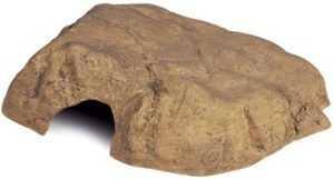 """אקזוטרה מערת סלע לארג' L גודל 30.5 ס""""מ"""