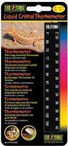 מד חום מדבקה לטרריום אקזוטרה