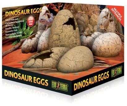דקורציה ביצי דינוזאור לזוחלים אקזוטרה