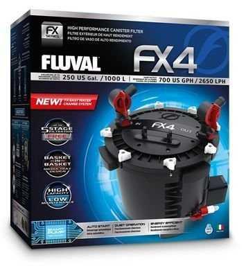 פילטר חיצוני פלובל FLUVAL FX4 הספק 2650 ליטר