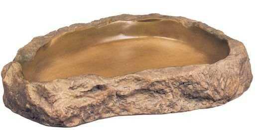 """כלי אוכל דמוי סלע אקזוטרה לארג' L באורך 21 ס""""מ"""