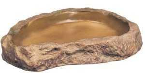 """כלי אוכל דמוי סלע אקזוטרה אקסטרה לארג' XL באורך 28 ס""""מ"""