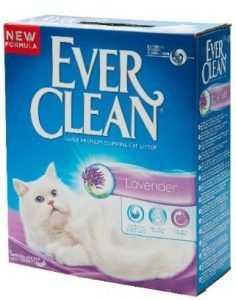 """אוור קלין סגול מבושם לחתולים בריח לוונדר 8.3 ק""""ג"""