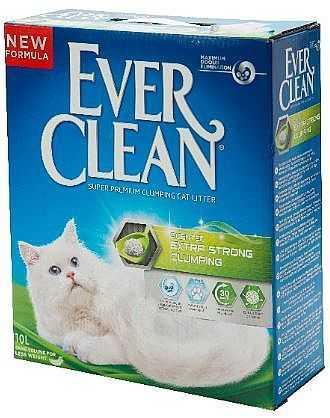 אוור קלין ירוק לחתולים חול מתגבש