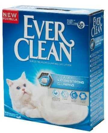אוור קלין כחול לחתול מתגבש חזק ללא בישום
