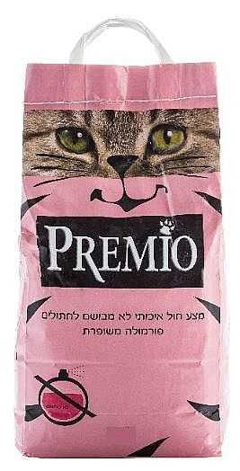 חול לחתולים פרמיו