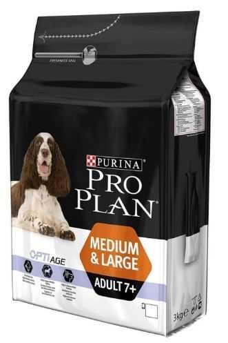 """פרו פלאן 7+ מזון לכלבים גזע בינוני וגדול 14 ק""""ג"""