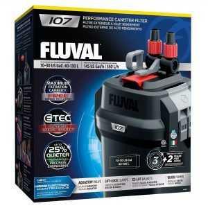 פילטר חיצוני לאקווריום פלובל 107 FLUVAL הספק 550 ליטר