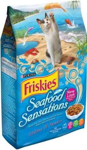 """פריסקיז כחול מאכלי ים 2.9 ק""""ג לחתולים"""