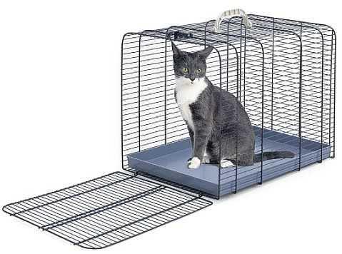 """כלוב נשיאה לחתולים IMAC אורך 43 ס""""מ"""