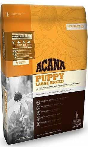 """אקאנה גורים גזע גדול וענק לכלב 11.4 ק""""ג"""