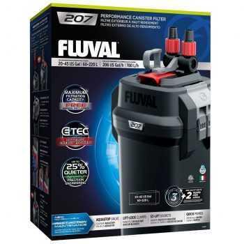 פילטר חיצוני לאקווריום פלובל 207 FLUVAL בהספק 780 ליטר לשעה