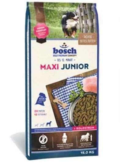 """אוכל לגורי כלבים בוש מקסי ג'וניור 15 ק""""ג"""