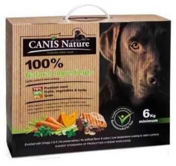 קאניס נייצ'ר עוף מזון טבעי לכלבים