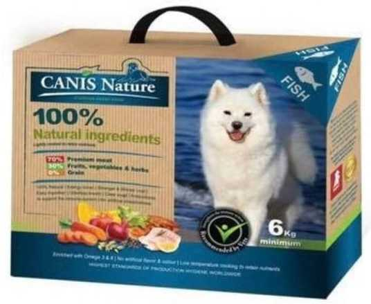 קאניס נייצ'ר דגים מזון טבעי לכלבים
