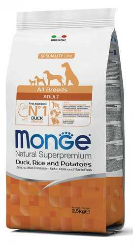 """מונג' אדולט ברווז לכלבים 2.5 ק""""ג"""