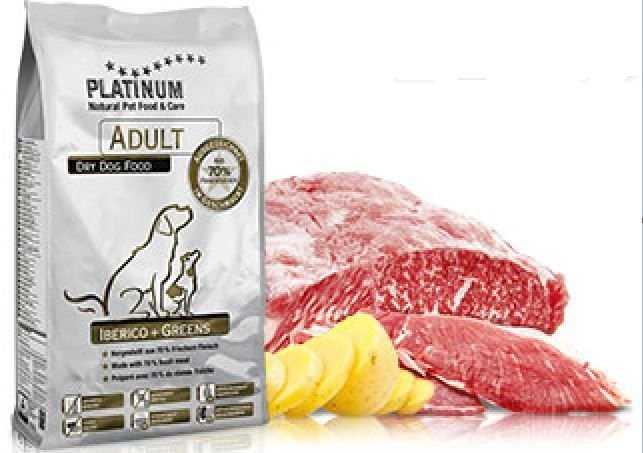 פלטינום אוכל רך לכלבים בטעם חזיר