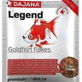 """מזון דגי בריכה פלייקס (עלים) 7.5 ק""""ג דג'אנה"""