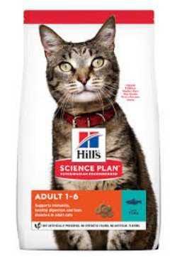 "מזון יבש בטעם טונה לחתולים הילס סאיינס דאייט 2 ק""ג"