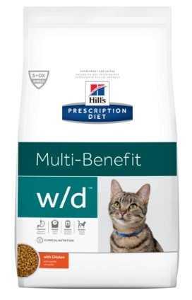 """מזון רפואי לחתולים לסכרת ובעיות בלבלב הילס 5 ק""""ג"""