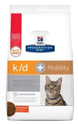 """מזון רפואי לחתולים עם בעיות תפקוד כליות הילס 5 ק""""ג"""