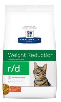 """מזון רפואי לחתולים בעלי עודף משקל הילס 5 ק""""ג"""