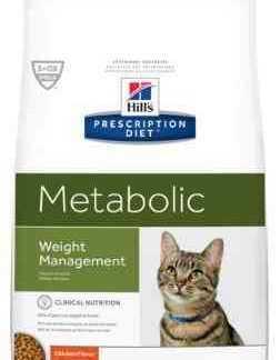 """מזון רפואי מטבוליק לחתול עם עודף משקל הילס 4 ק""""ג"""