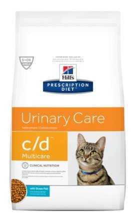 """מזון רפואי לחתולים עם בעיות בדרכי השתן הילס 10 ק""""ג"""