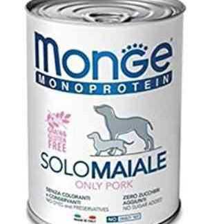 מונג' מונופרוטאין חזיר לכלב בוגר 400 גר'