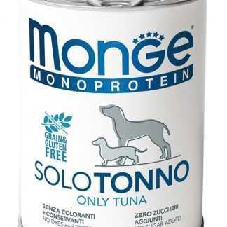 מונג' מונופרוטאין טונה לכלב בוגר 400 גר'