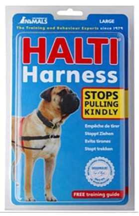 הלטי רתמת גוף לכלב מידה לארג'