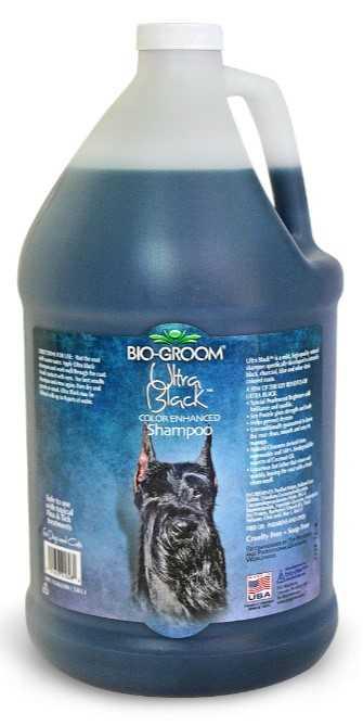 """ביו גרום אולטרה בלאק שמפו לכלבים שחורים 3.78 מ""""ל"""